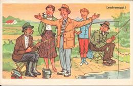 Leedvermaak, Vissen, 1954 - Humor