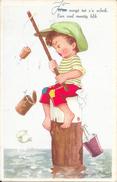 Leedvermaak, Vissen, Oud Blik, 1951 - Humor
