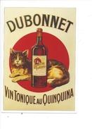 16333 - Dubonnet Vin Tonique Au Quinquina Chat Reproduction D'affiche - Publicité