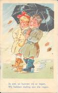 Leedvermaak, Samen In De Regen, 1952 - Humor