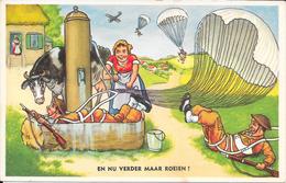 Leedvermaak, Militair, Roeien, 1956 - Humor