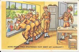 Leedvermaak, Militair, Strategisch Punt, 1956 - Humor
