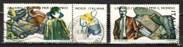 ITALIA - 1986 - IL LAVORO ITALIANO NEL MONDO: LA MODA ITALIANA - USATI - 1981-90: Gebraucht