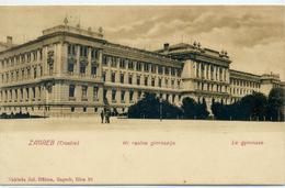ZAGREB - Le Gymnase - - Croatie