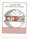 16346 - Tabasco Une Goutte Suffit Pour Mettre Le Feu Aux Miches - Publicité