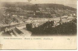 Bouillon Ecoles Régimentaires Maison J Florin  (tabac De La Semois) Année 189. - Bouillon