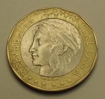 1997 - Italie - Italy - 1000 LIRE, (R), Union Européenne, KM 194 - Herdenking