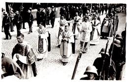 Carte-Photo De La Fête Dieu à Fribourg En 1930 - FR Fribourg