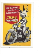 16348- The Bantam Goes Everywhere BSA The Most Popular Motor Cycle - Publicité