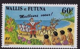 Wallis & Futuna (Sc# 419), MNH, (Set Of 1) Christmas  (1991)2s - Guam