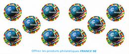 France.carnet Commémoratif Bc3140 Année 1998.neuf Non Plié. - Personnages