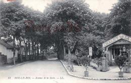 (77) Bois Le Roi - Avenue De La Gare - 2 SCANS - Bois Le Roi