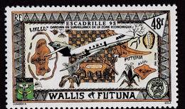 Wallis & Futuna (Sc# 420), MNH, (Set Of 1)Mairtime Surveillance  (1992)2s - Guam