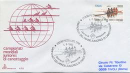 ITALIA - FDC  CAPITOLIUM 1982 - CANOTTAGGIO - SPORT - 6. 1946-.. Repubblica