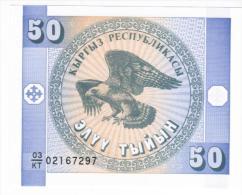 Kyrgyzstan - Pick 3 - 50 Tyiyn 1993 - Unc - Kirghizistan