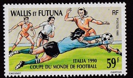 Wallis & Futuna (Sc# 391), MNH, (Set Of 1) World Cup, Italy (1990)2s - Guam