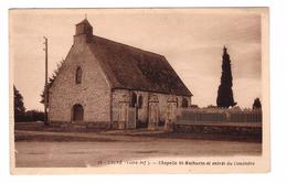 44 Ligné Chapelle Mathurin Et Entrée Du Cimetiere - Ligné