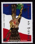 Wallis & Futuna (Sc# 541), MNH, (Set Of 1) 40th Anniversary Of Territorial Status (2001)2s - Guam