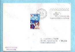 Croix-Rouge 1974 - 64 Pau - 11/12/1974. (39848) - Mechanische Stempels (reclame)