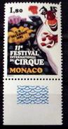 MONACO # 1490.  1.80fr, 11th International Circus Festival. MNH (**) - Monaco