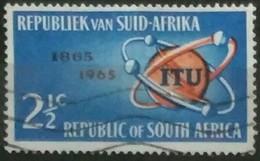 SUDAFRICA - AFRICA DEL SUR 1965 The 100th Anniversary Of I.T.U. USADO - USED. - África Del Sur (1961-...)