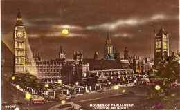 LONDON - Houses Of Parliament By Night - Houses Of Parliament