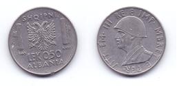 Albania 0.50 Lek 1940 WWII Issue - Albania