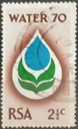 SUDAFRICA - AFRICA DEL SUR 1970 Water 70 Campaign. USADO - USED. - África Del Sur (1961-...)