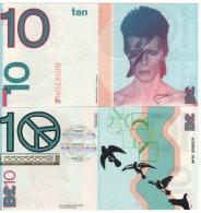 "ENGLAND. £10  ""BRIXTON""  Official Local Currency "" DAVID BOWIE""  2016.  UNC - 1952-… : Elizabeth II"