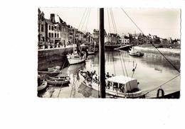 Cpsm - 44 - LE CROISIC - Le Port N°101 Cap - Bateau St Vincent - Le Croisic