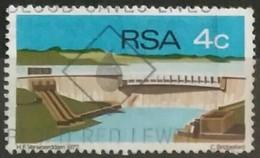 SUDAFRICA - AFRICA DEL SUR 1972 Opening Of Hendrik Verwoerd Dam. USADO - USED. - África Del Sur (1961-...)
