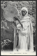 """Maroc : """"Négro Musicien"""" (circa 1915) - Non Classés"""
