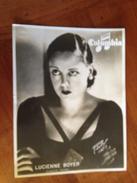 """Lucienne BOYER   """"Columbia"""" - Célébrités"""