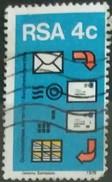 SUDAFRICA - AFRICA DEL SUR 1975 Postal Mechanization. USADO - USED. - África Del Sur (1961-...)