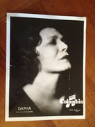 """DAMIA  """" Columbia"""" - Célébrités"""