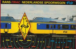 QSL Card Amateur Radio Station RANS FIRAC NEDERLANDSE SPOORWEGEN Railway Train Trein ARNHEM 1995 - Radio Amatoriale