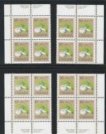 CANADA 1977 SCOTT 711 CORNER BLOCKS SET - 1952-.... Reign Of Elizabeth II
