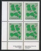 CANADA 1977 SCOTT 717 CORNER BLOCK LL - 1952-.... Elizabeth II