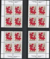 CANADA 1977 SCOTT 719 CORNER BLOCKS SET - 1952-.... Reign Of Elizabeth II