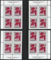 CANADA 1977 SCOTT 720 CORNER BLOCKS SET - 1952-.... Reign Of Elizabeth II