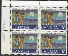CANADA 1977 SCOTT 741 CORNER BLOCK UR - Ongebruikt
