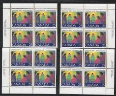 CANADA 1977 SCOTT 743 CORNER BLOCKS SET - 1952-.... Reign Of Elizabeth II