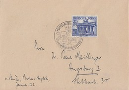 DR Brief EF Minr.803 SST Hoppegarten 14.9.41 - Germany