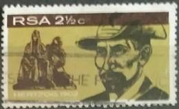 SUDAFRICA - AFRICA DEL SUR 1968 Inauguration Of General Hertzog Monument, Bloemfontein. USADO - USED. - África Del Sur (1961-...)