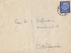 DR Brief EF Minr.553 München 13.11.34 Gel. Nach Halle - Briefe U. Dokumente