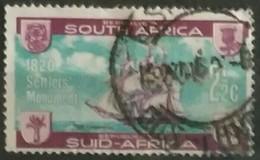 SUDAFRICA - AFRICA DEL SUR 1962 Unveiling Ofthe Precinct Stone, British Settlers Moonument, Grahamstown. USADO - USED. - África Del Sur (1961-...)