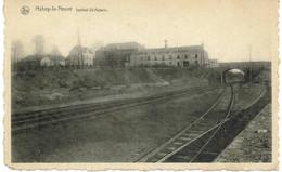 HABAY Institut St Aubain Chemin De Fer 1956 Taxes - Habay