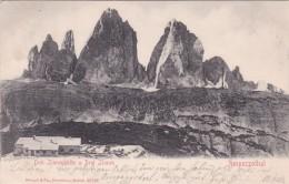 Drei Zinnenhütte U. Drei Zinnen - Ampezzothal (20722) * 1903 - Italia