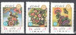 Iran  1976 - Butterflies  Schmetterlinge  Mi. 1849-51 - MNH (**) - Mariposas