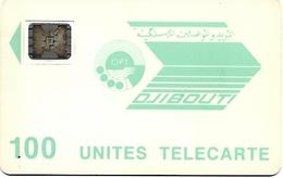 @+ Djibouti - OPT 100U - SC5 AN Avec Cadre  - Série N° 23646 Emb - Ref : DJI-13 - Djibouti